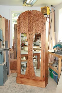 Custom Made Tree Cupboard Or Armoire