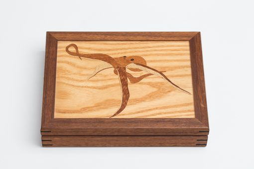 Custom Made Marquetry Box