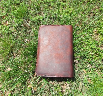 Custom Made Bison Leather Bible Cover
