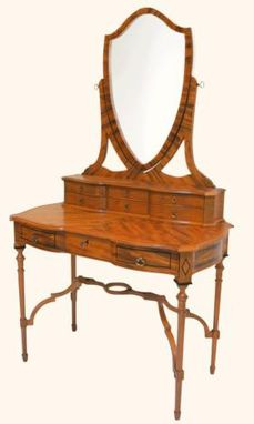 Custom Made Whimsical Teak Dressing Table