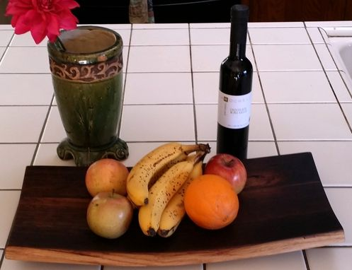 Custom Made Wine Stave Bowl/Tray - Large