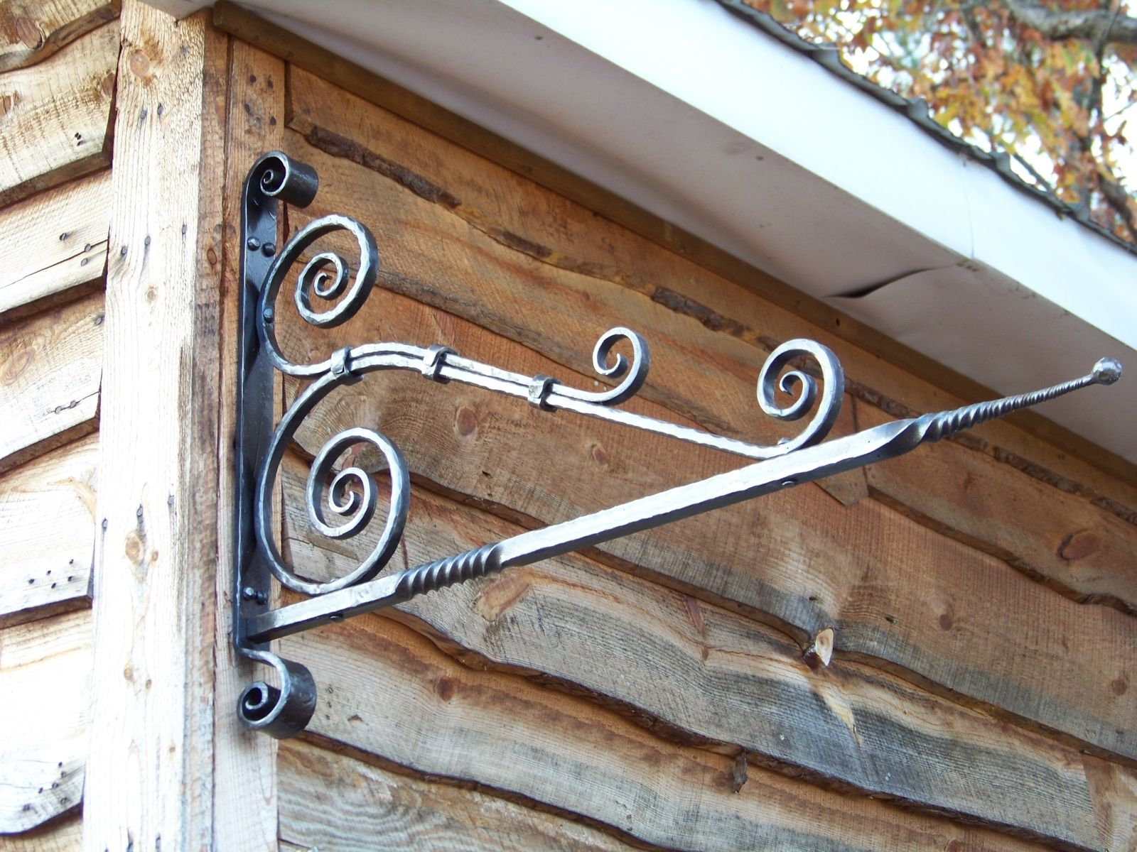 Hand Made Sign Hanger By Shade Tree Forge Custommade Com