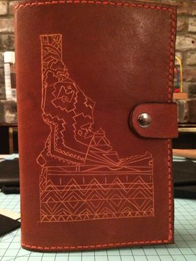 Custom Made All Leather Planner