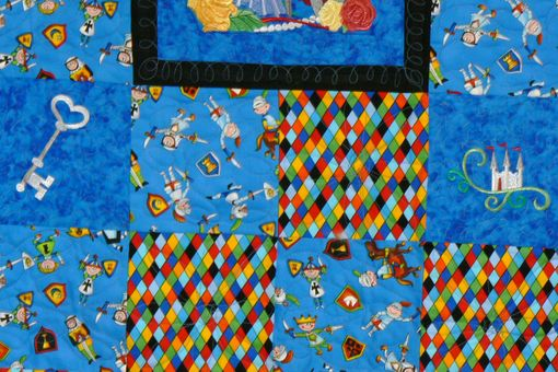 Custom Made Custom Made Once Upon A Time - Child's Throw Quilt