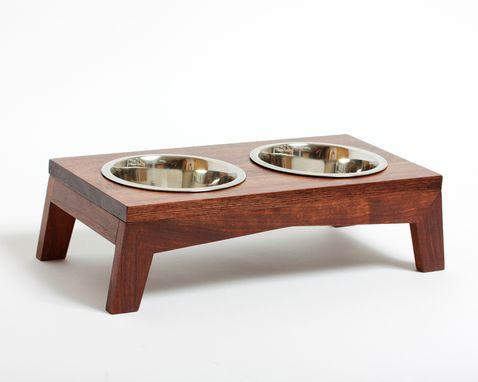 Custom Made Modern Dog Bowl