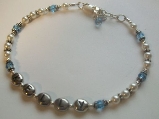 Custom Made Name Bracelet, Personalized Bracelet