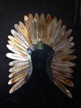 Custom Made Metal Indian Head Dress