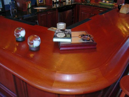 Custom Made Curved Bar Rails