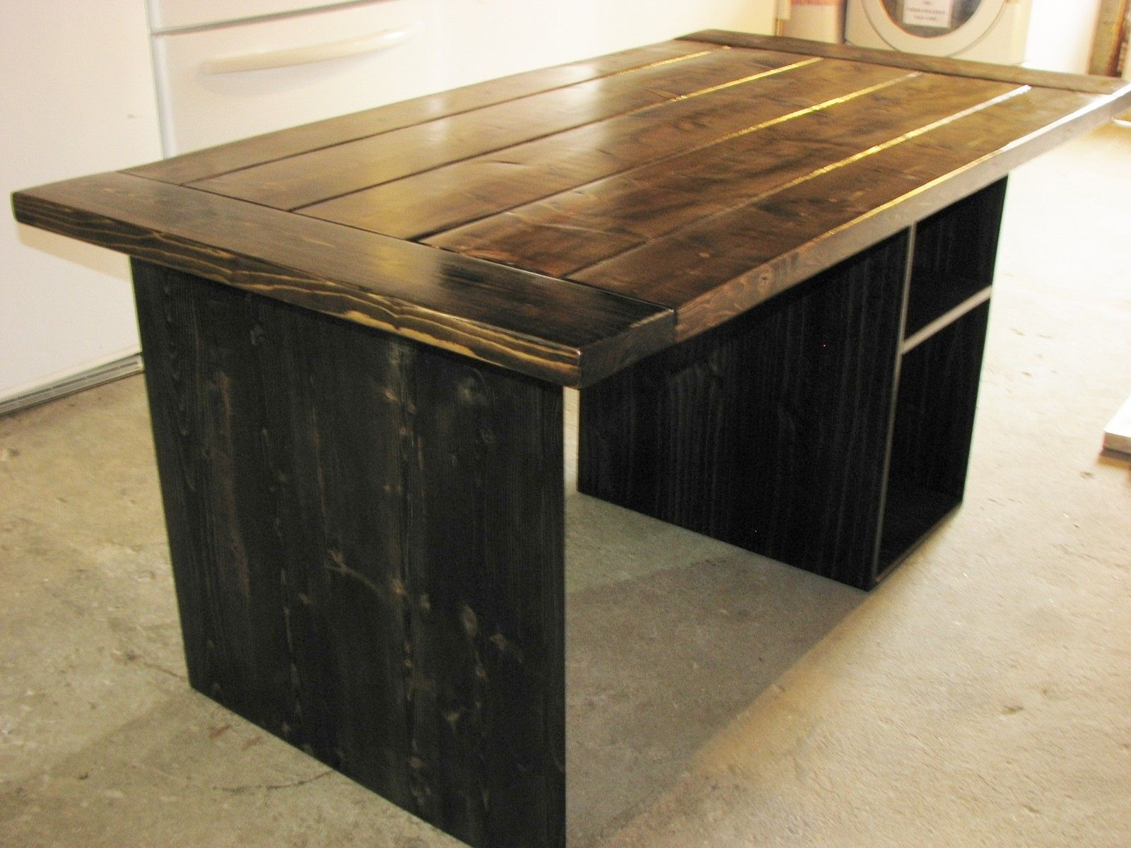 Hand Made Farmhouse Style Office Desk By Custom Furniture Custommade