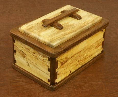 Custom Made Splated Mango Keepsake Box