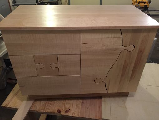Custom Made Jigsaw Puzzle Dresser