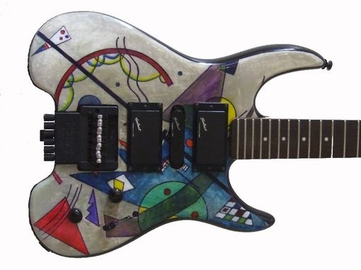Custom Made Electric Guitars Custom Painted