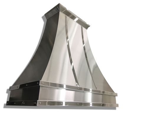 Custom Made #66 Gorgeous Stainless Steel Range Hood