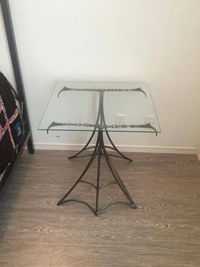 "Custom Made ""Fang"" Night Stand Or End Table"