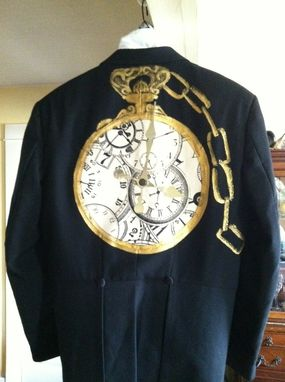 Custom Made Clock Diner Jacket