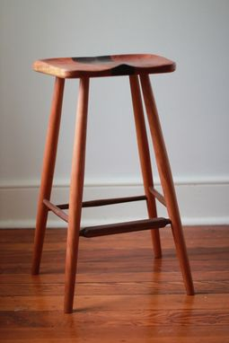 Custom Made Sculpted Seat Stool