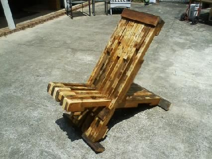 Custom Made Out Door Chair.