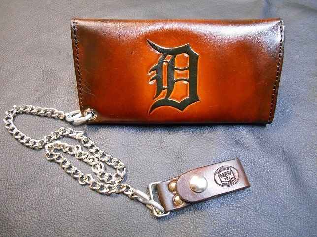 Hand Crafted Biker Chain Wallet By Alamo Custom Leather