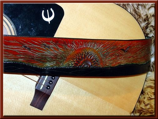 Custom Made Assorted Leather Guitar Straps