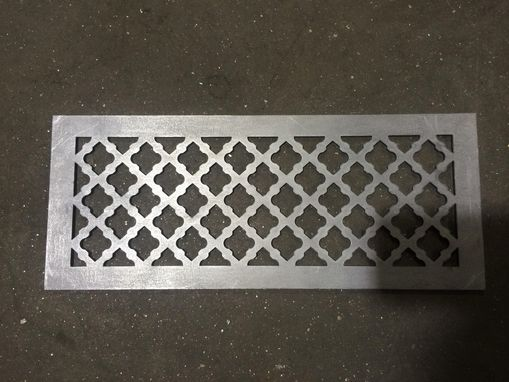 Custom Made Floor Vent Grilles No Damper