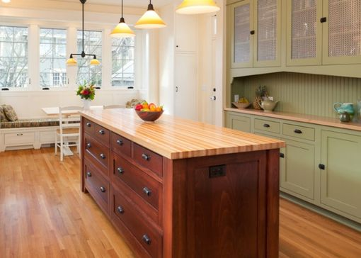Custom Made Custom Butcher Block Counter Tops