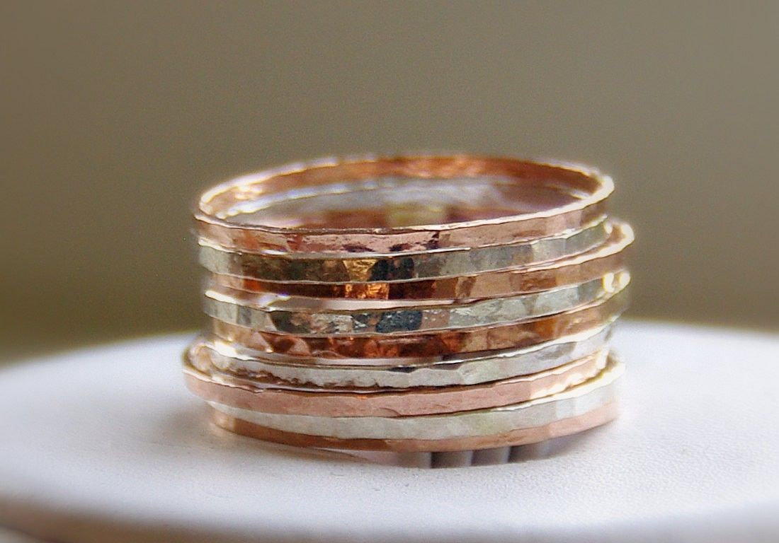 Colour Stack Rings