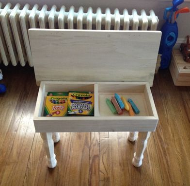 Custom Made Children's Art Desk