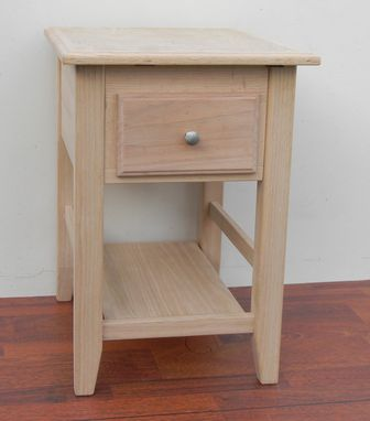 Custom Made Oak Concealment Night Stand