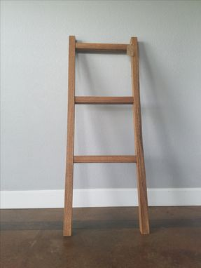 Custom Made American Oak Blanket Ladder