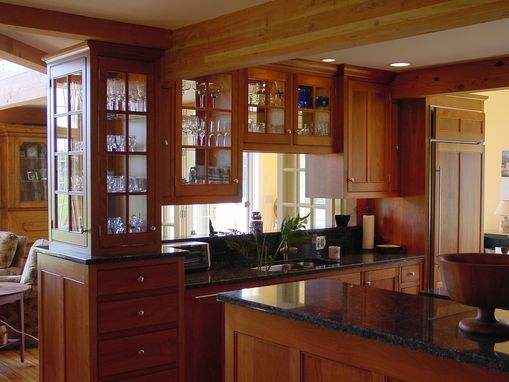 Custom Made Post & Beam Kitchen