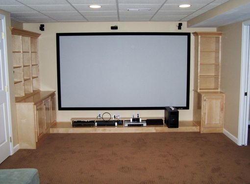 Custom Made Home Theatre Cabinets