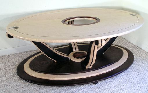 Custom Made Neo-Deco Coffee Table