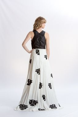 Custom Made Embroidered Evening Gown