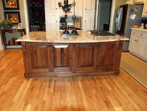 Custom Made Cherry Kitchen Island