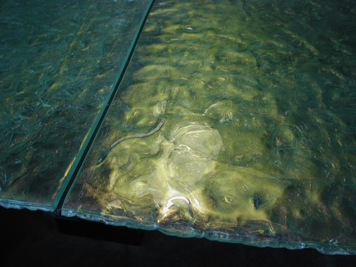 Custom Made Textured Conference Table