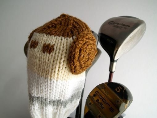 Custom Made Princess Leia Star Wars Knit Golf Club Cover
