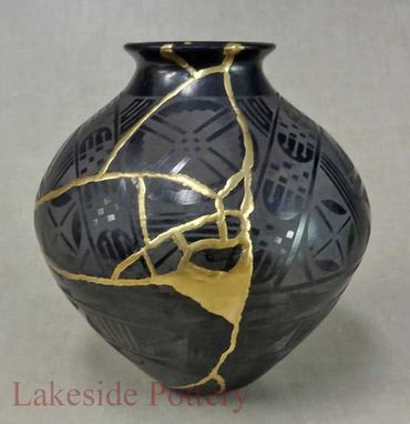 Custom Made Kintsugi Art