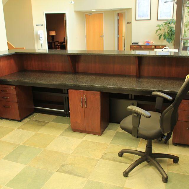Custom Office Desks - Interior Design