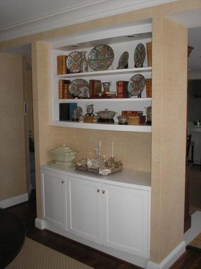 Custom Made Curved Cabinet