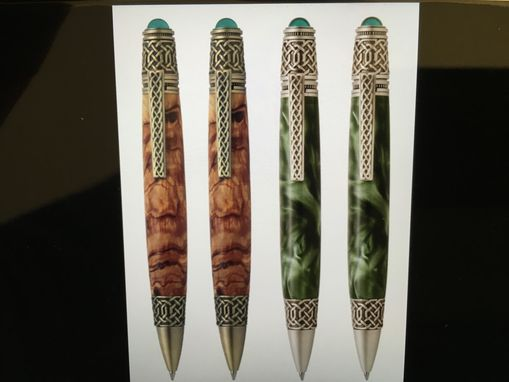 Custom Made Hand Crafted Celtic Themed Pen