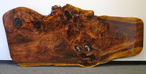 Custom Made Live Edge Old Growth Redwood Wall Art/Sculpture