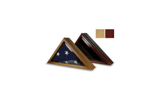 Custom Made Marine Flag Display Case For 5ft X 9.5ft Flag