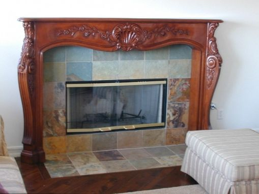 Custom Made M-630 Custom Fireplace Mantel