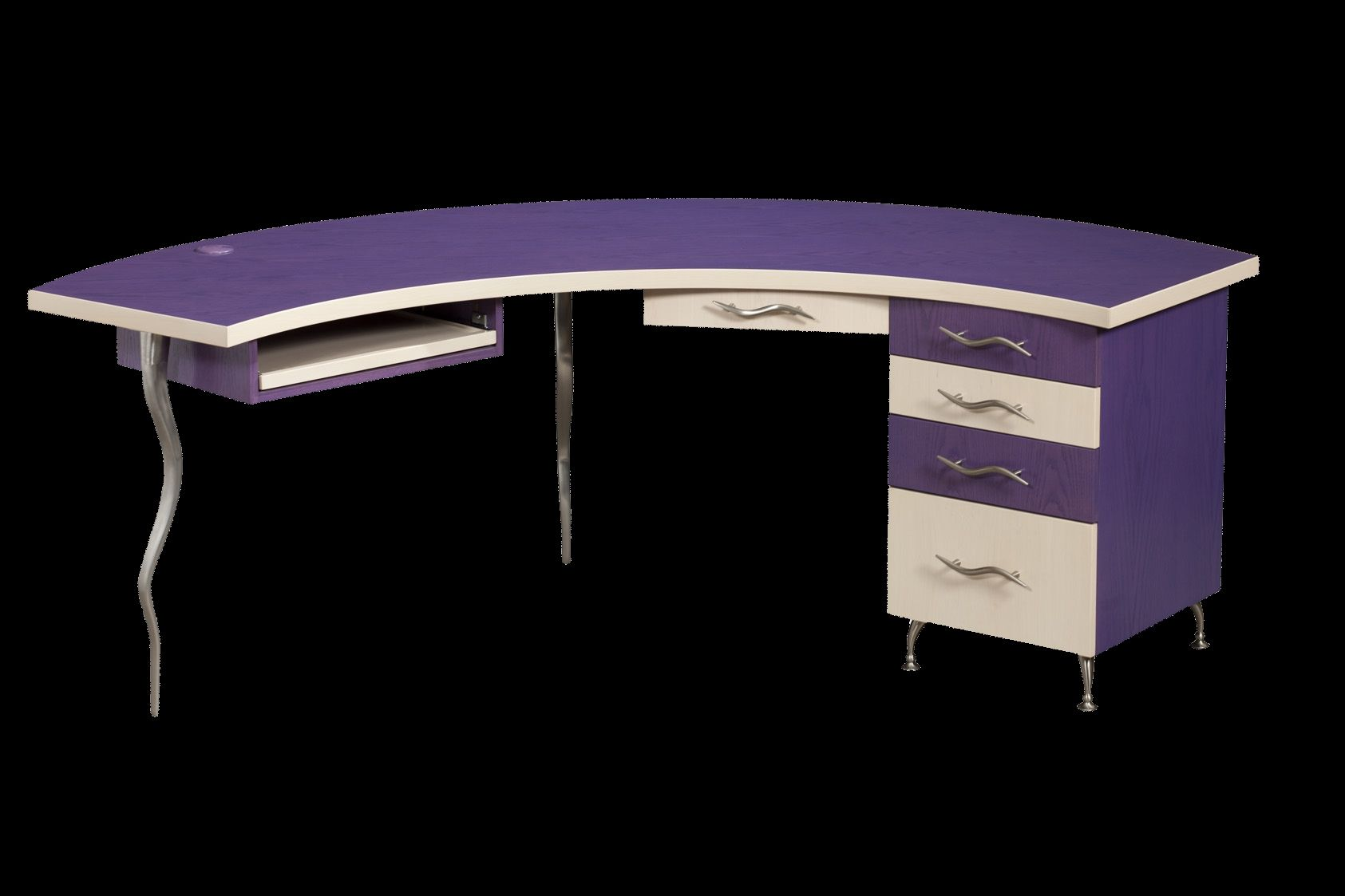 Image of: Custom Demiluna Designer Desk Funky Modern Cool By Corl Design Ltd Custommade Com