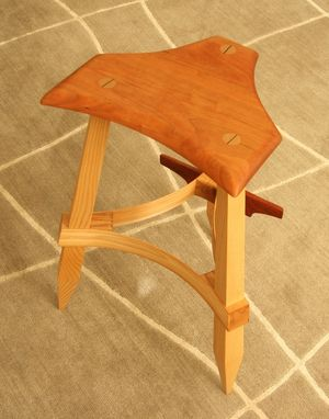 Custom Made Bentwood Stool