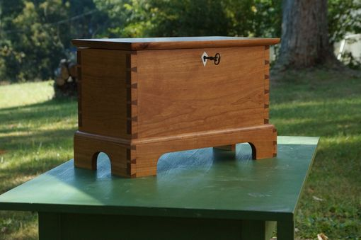 Custom Made Small Lockable Chest
