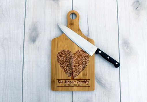 Custom Made Personalized Paddle Board -- Cb-Pad-Mason Heart Tree