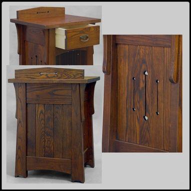 Custom Made Ash Nightstands / End Tables