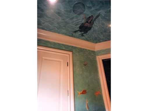 Custom Made Underwater Bathroom Suite Mural By Visionary Mural Co.