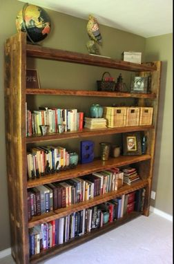 Custom Made Rafter Bookcase